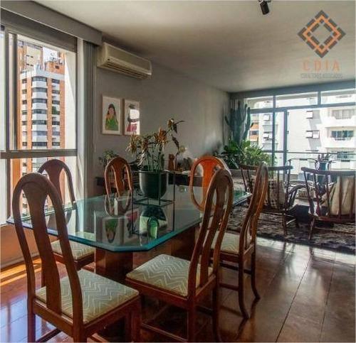 Imagem 1 de 24 de Apartamento Para Compra Com 2 Quartos, 1 Suite E 2 Vagas Localizado Em Moema Pássaros - Ap52302