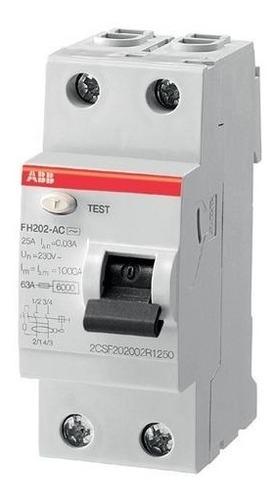 Abb 2csf202006r1400 Mini Interruptor Resid Fh202 Ac-40/0,03