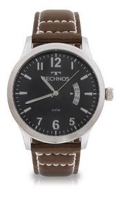 Relógio Masculino Technos Classic 2115kto/0p 44mm Couro