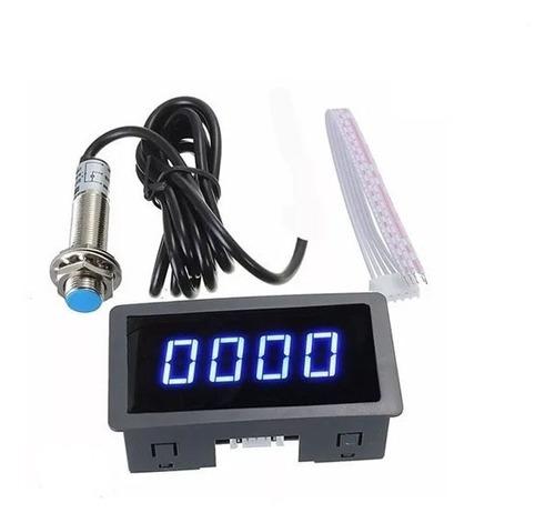 Medidor Digital Rpm Sensor Tacômetro