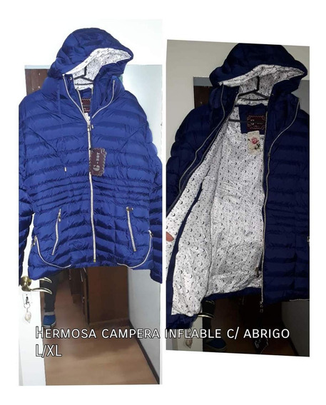 Campera Inflable De Mujer