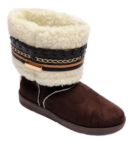 Bota Impermeável Para Neve Bota Forrada Pelo Pelucia Lã 4060