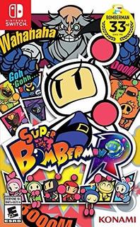 Super Bomberman R Nintendo Switch Nuevo Sellado