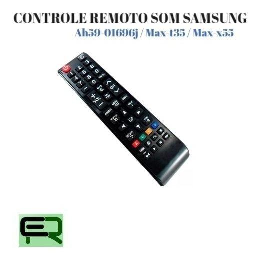 Controle Remoto Som Samsung Ah59-01696j Max-t35 Max-x55 ...