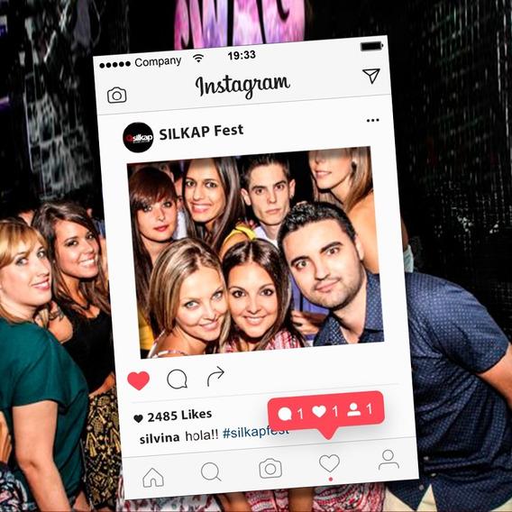 Cartel Marco Cuadro Fiestas 70x100m Instagram Facebook Etc