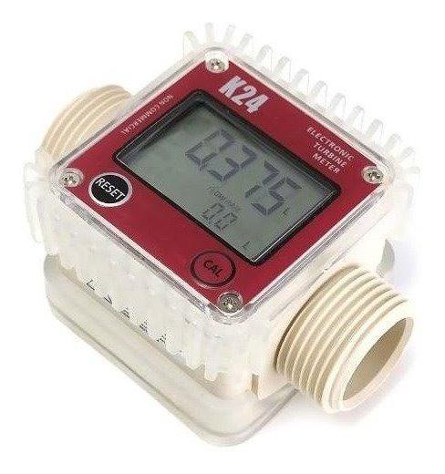 Medidor Digital De Fluxo Vazão Água/diesel/arla 32/químicos