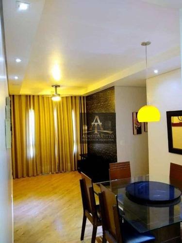 Apartamento Com 3 Dormitórios À Venda, 69 M² Por R$ 310.000,00 - Vila Iracema - Barueri/sp - Ap2985