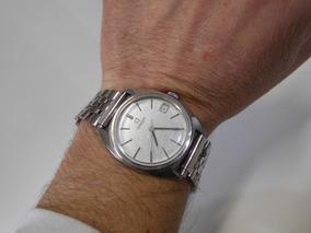 Relógio Antigo Omega Day De Pulso Automático Cal. 564 Em Aço