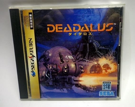 Sega Saturno Deadalus Completa Original Japonês