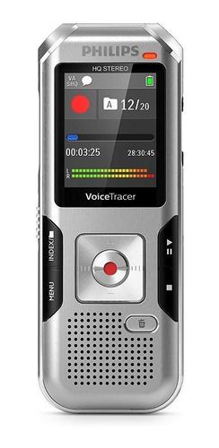 Philips Voicetracer Dvt4010 8gb 2 Mic Grabadora De Voz