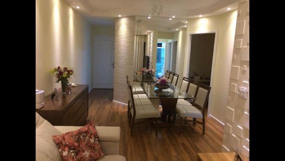 Apartamento Mobiliado Edifício Tulum 600mt Metro Vl Matilde