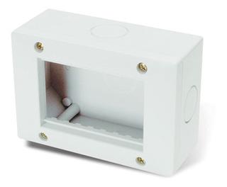 Caja Exterior Cambre 4 Módulos Ip40 Blanca Siglo Xxii