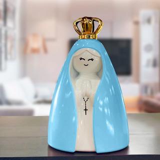 Nossa Senhora Laqueada Azul Decoração E Presente Decorfun