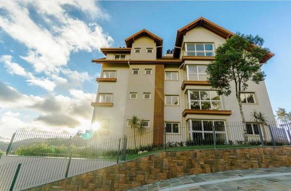 Apartamento Para Venda Em Gramado, Carazal, 2 Dormitórios, 1 Suíte, 2 Banheiros, 1 Vaga - Jva2032