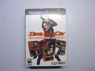Ps2 Devil May Cry 5th Anniversary Collection Play Station