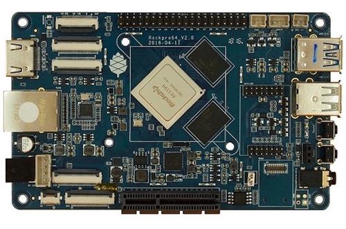 Imagem 1 de 3 de Pine Rockpro64 4gb Single Board Placa Computador