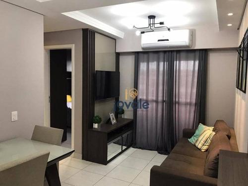 Apartamento Residencial À Venda,reserva De Villa Branca, Villa Branca, Jacareí. - Ap1427