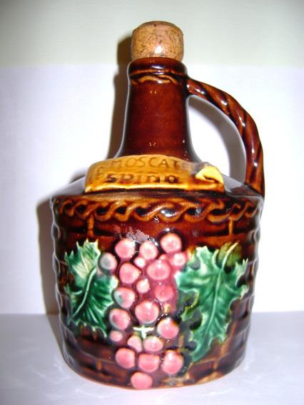 Antiguo Botellon Garrafa Damajuana Vino Moscatel Espiño