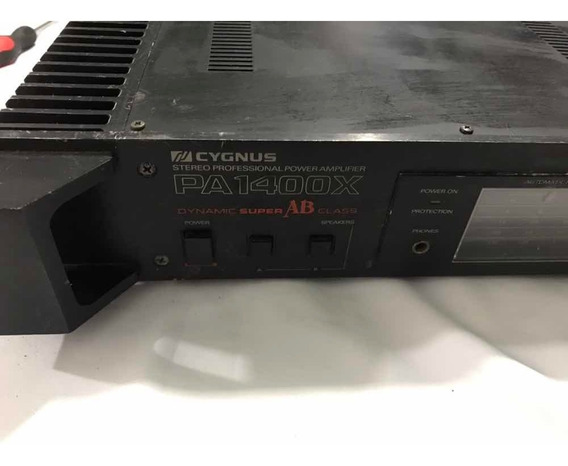 Amplificador Pa 1400x Cygnus
