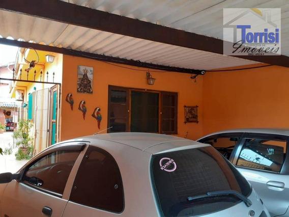 Casa Com 2 Dormitórios À Venda, 70 M² Por R$ 210.000 - Mirim - Praia Grande/sp - Ref. Ca0162 - Ca0162
