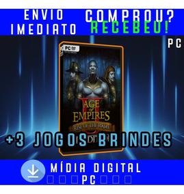 Age Of Empires 2 Hd Pc Digital + 3 Jogos Brindes