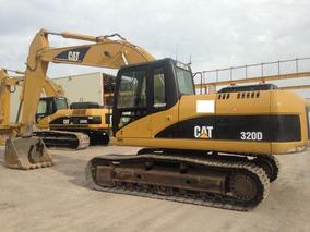 Excavadora Hidraulica Caterpillar 320 D Lista Para Trabajar