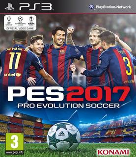 Pes 2017 Pro Evolution Soccer 2017 Español Latino Ps3 | Vgm