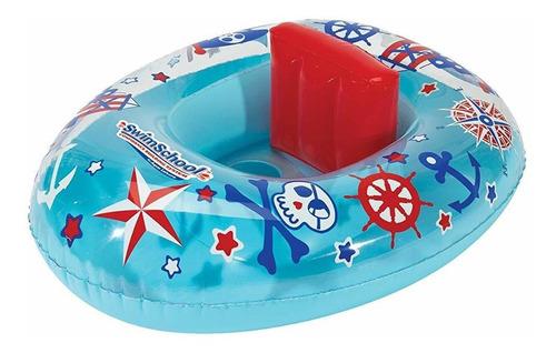 Imagen 1 de 7 de Swimschool Lil Skipper - Flotador Para Piscina Para Bebés, B