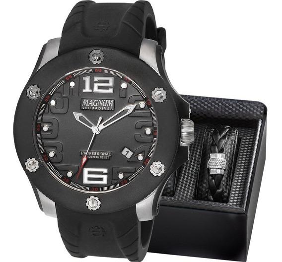 Relógio Masculino Magnum Original Garantia Barato Com Nota