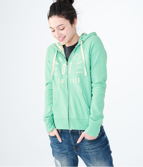 Campera Aéropostale Aero 87 Arch Full-zip Hoodie Talle Xl