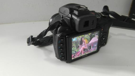 Câmera Fujifilm Hs30exr Zoom 30x/raw + Tripé + Cartão