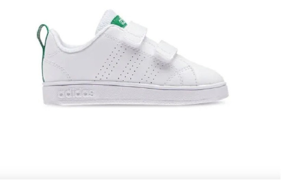 Tenis adidas Vs Adventage Clean Blancos Niño 2671963 And.dep