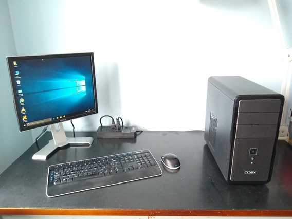 Computador Completo - Pc + Monitor + Impressora
