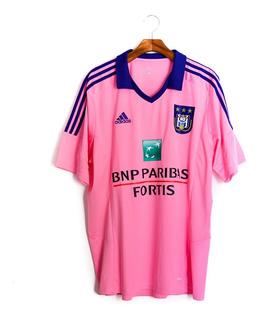 Camisa De Futebol Masculino Anderlecht 2014/15 adidas B09267