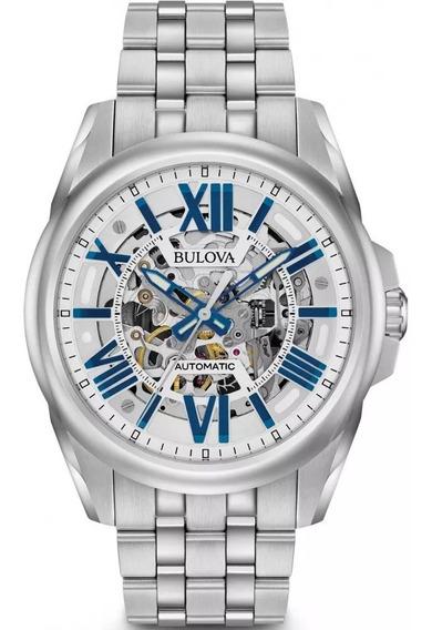 Relógio Bulova Masculino Automático 96a187