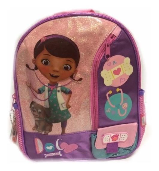 Mochila Jardin Espalda Disney Junior Doctora Juguetes 13´