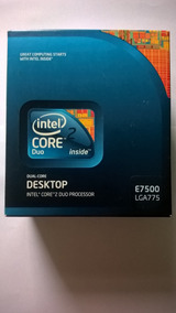 Processador Intel Core 2 Duo - E7500