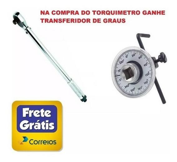 Torquimetro De Estalo + Transferidor De Grau + Frete Grátis