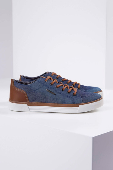 Sapatênis Jeans West Coast Azul