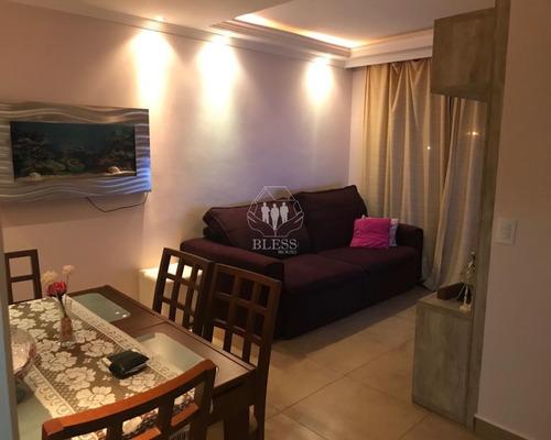 Imagem 1 de 15 de Apartamento À Venda No Residencial Excellence Jundiai (alugado Atualmente), Ideal Para Investidores! 2 Dormitórios, Sacada E Uma Vaga De Garagem - Ap03679 - 69612273