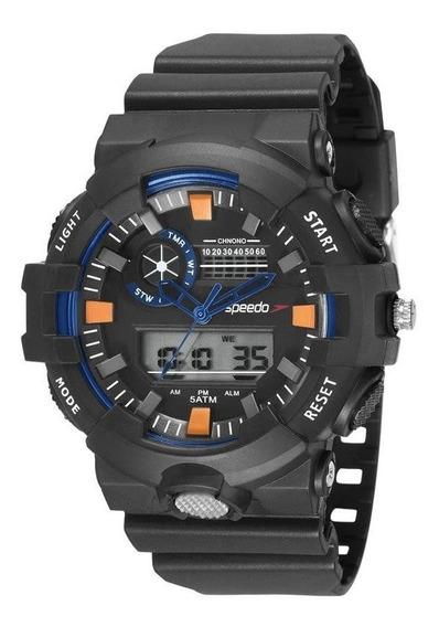 Relógio Speedo Masculino Ref: 81181g0evnp1 Esportivo Anadigi