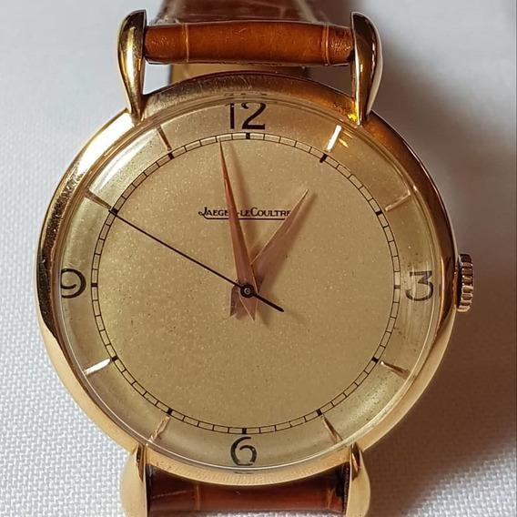 Relógio Anos 50 Ouro 18k Maciço Jaeger Lecoultre A Corda Man