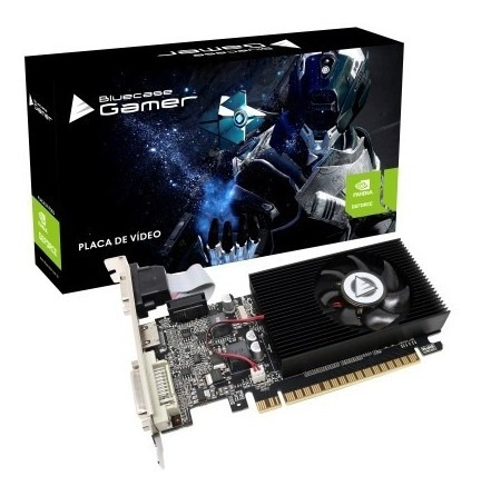 Placa De Vídeo Geforce Gt 730 2gb Ddr3 128 Bits Bluecase