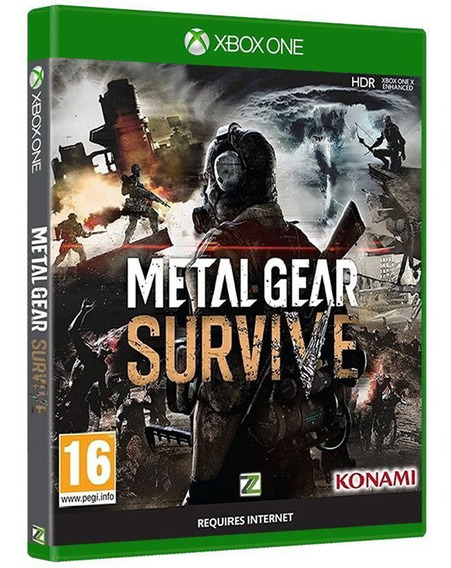Metal Gear Survive Xbox One [ Mídia Física E Lacrada ]