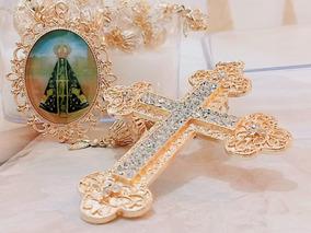 Terço De Noivas Exclusivo Nossa Senhora Aparecida Promoção