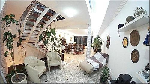 Sobrado Com 3 Dormitórios À Venda, 451 M² Por R$ 1.950.000 - Mooca - São Paulo/sp - So1434