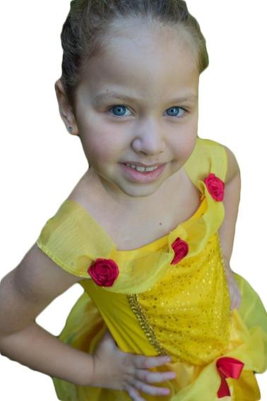 Fantasia Princesa Bela E A Fera Infantil Princesas Disney