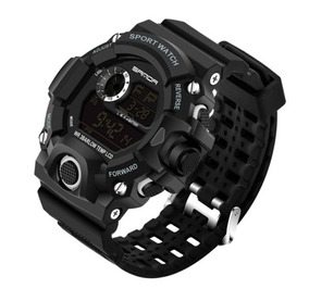 Relógio Masculino Esportivo Militar Shock Digital Sanda