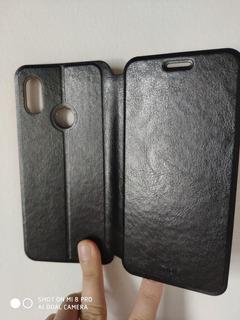 Case De Couro Mi 8 Capinha Flip Case Xiaomi Mi 8