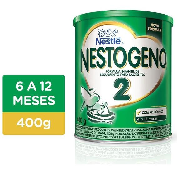 Nestogeno 2 Fórmula Infantil Nestlé Lata 400g